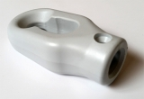 Kurbelöse aus Kunststoff grau Bohrung Ø 12mm